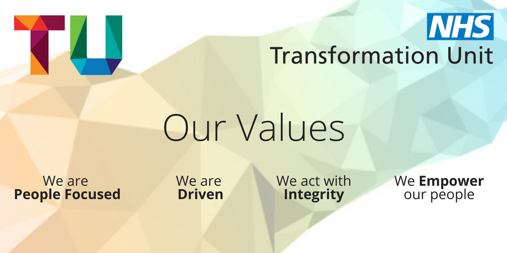 Project Management Consultancy NHS Transformation Unit UK